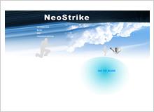 個人サイトFLASH画面1